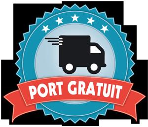 port gratuit