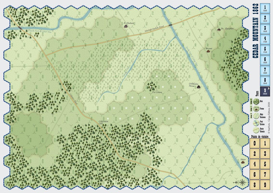 cedar mountain map