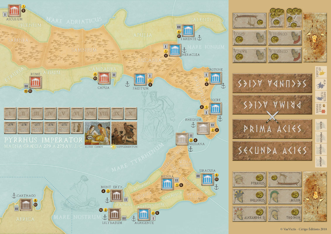 carte pyrrhus